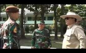 Lama Tak Muncul, Taruna Ganteng Enzo Disambangi Prabowo