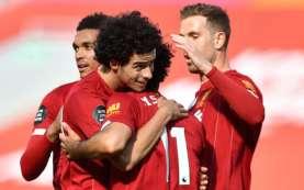 Hasil Liga Inggris : Liverpool Benamkan Villa di Zona Degradasi
