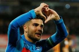 Hasil Liga Italia : Napoli Sikat Roma, Atalanta Menang Ke-8 Beruntun
