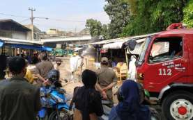 Lima Orang Positif Covid-19, Dua Pasar di Kota Bandung Kembali Ditutup