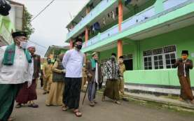 Ridwan Kamil Tinjau Penerapan Protokol Kesehatan Ponpes di Priangan Timur