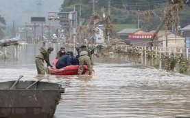 Korban Tewas Akibat Banjir di Jepang Diperkirakan 50 Orang Lebih