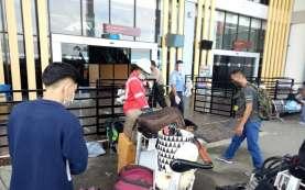 Penerbangan di Bandara Mozes Kilangin Timika Mulai Normal