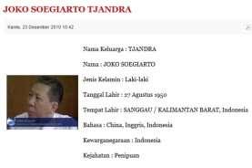 Kemendagri Cek KTP-el Djoko Tjandra, Jadi dalam 1 Jam 19 Menit