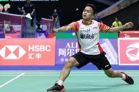 Hasil PBSI Home Tournament: Anthony Ginting Maju ke Semifinal