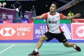 Hasil PBSI Home Tournament: Anthony Ginting Maju ke Semifinal