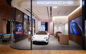 Porsche @CityLife, Toko Inspiratif di Jantung Kota Milan