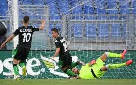 Hasil Liga Italia: Kejutan, Sassuolo Bekuk Lazio di Olimpico
