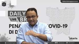 Kasus Covid-19 di Jakarta Capai Angka Tertinggi, Anies: Jangan Anggap Enteng