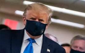 Seperti Apa Masker yang Dipakai Trump, dan Apa Alasan Akhirnya Dia Memakainya?