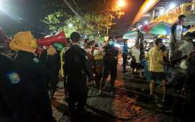 Surabaya Gencar Operasi Pemakaian Masker Hingga Permukiman