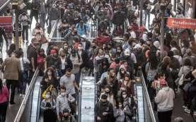 Brasil Catat Penambahan 41.857 Kasus Baru Covid-19 dalam Sehari