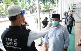 Tak Pakai Masker Didenda hingga Rp500.000 di Sumsel