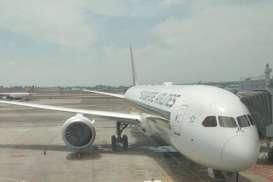 Singapore Airlines Rugi Besar, Harga Saham Jatuh