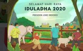 Jokowi: Selamat Iduladha, Semoga Ujian Pandemi Covid-19 Segera Berlalu