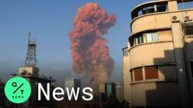 Ledakan Dahyat Guncang Beirut, Masih Banyak Korban Terperangkap