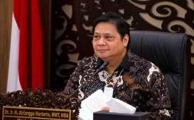 Ekonomi Indonesia Minus 5,32 Persen, Airlangga: Kita Tak Sedalam Negara Lain