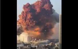 Ledakan di Pelabuhan Beirut Lebanon 10 Kali Lebih Dahsyat dari Ledakan di Texas