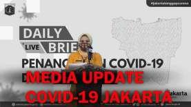 Kasus Corona Jakarta Salip Jawa Timur, Dinkes DKI: Jangan Cemas