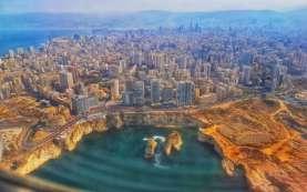 Ledakan di Beirut Ciptakan Lubang Sedalam 43 Meter
