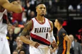 Hasil Pertandingan NBA: Blazers Tekuk Philadelphia, Lillard Jadi Bintang