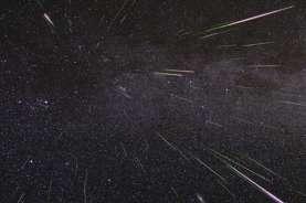 Wow, Hujan Meteor Bisa Dilihat Lewat Tengah Malam Hingga Subuh