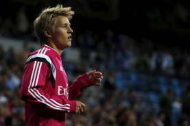 Bursa Transfer Real Madrid: Odegaard Ditarik Pulang Madrid