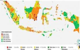 Update Corona 13 Agustus: 64 Kabupaten/Kota Zona Oranye Selama Empat Pekan