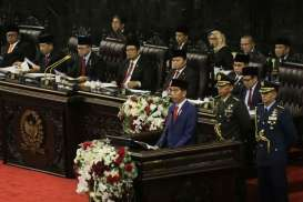 Sidang Tahunan MPR DPR, Presiden Jokowi Pakai Baju Adat NTT