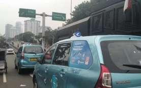 Sidang Tahunan MPR 2020, Kendaraan Masih Melintas di Gerbang Pemuda