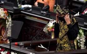 Pidato Kenegaraan di Sidang Tahunan MPR DPR, Jokowi Tak Singgung RUU Ciptaker?