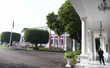 Foto-Foto Kesunyian di Istana Saat Perayaan HUT Ke-75  Kemerdekaan RI