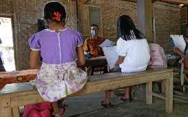 Potret Pengabdian Guru di Pegunungan Menoreh Saat Pandemi