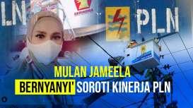 Mulan Jameela 'Bernyanyi' Soroti Utang PLN