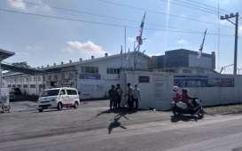 Pabrik Garmen di Delanggu Klaten Didisinfektan Antisipasi Penyebaran Corona
