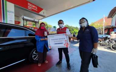 Hari Pelanggan Nasional, Pertamina Ingatkan Kembali Protokol Covid-19 di SPBU