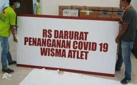 Update Corona 12 September: 1.686 Pasien Dirawat di RSD Wisma Atlet