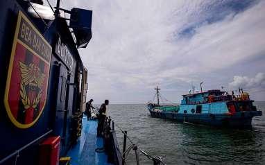 Foto-Foto Patroli Laut Bea Dan Cukai Melawan Kejahatan Fiskal