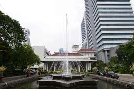 Pejabat Terinfeksi Corona, Gedung Blok G Balai Kota DKI Disemprot Disinfektan Tiga Hari