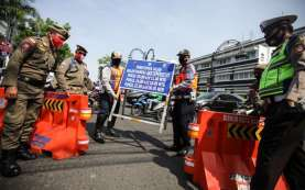 Buka Tutup 5 Ruas Jalan Dimulai Hari Ini, Warga Diminta Kurangi Keluar Rumah