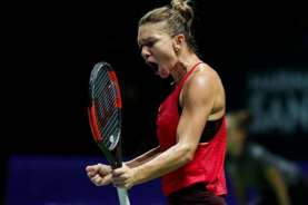 Hasil Tenis Italia : Putintseva Mundur, Halep Lolos ke Semifinal