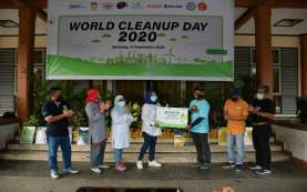 World Cleanup Day 2020, PIKA Pupuk Kaltim Kumpulkan 255 Kg Lebih Sampah Plastik Rumah Tangga