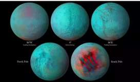 Es di Permukaan Saturnus Mencair, NASA Deteksi Ada Kehidupan Alien