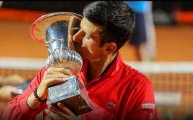 Djokovic Juara Tenis Italia Terbuka, Pecahkan Rekor Nadal