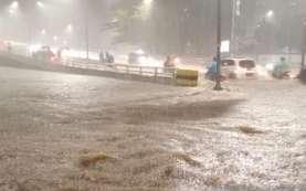Banjir Jakarta, Update Tinggi Muka Air Pagi Ini