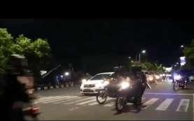 Antisipasi Konvoi Massa, Aparat Keamanan Bersiap di Mapolresta dan Plaza Manahan Solo