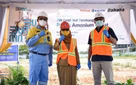 Pabrik Amonium Nitrat Dahana–PKT Masuki Tahap Pile Load Test