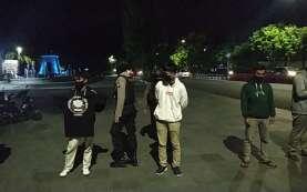 Polisi Tangkap Belasan Orang dan Sita Kendaraan di Plaza Manahan Solo