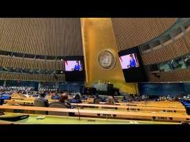 Jokowi Berbahasa Indonesia saat Tampil Perdana di Sidang PBB secara Virtual