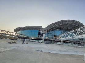 Progress Proyek Pengembangan Bandara Sultan Hasanuddin Makassar Capai 55,17%